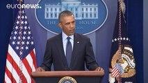 """Obama: """"Werden unsere Werte niemals wegen eines Terroranschlags ändern"""""""