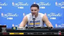 Klay Thompson on Draymond Green's Game 5 Suspension  Cavaliers vs Warriors  2016 NBA Finals