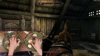 Playing Skyrim with a Potato