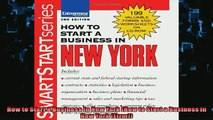 READ book  How to Start a Business in New York How to Start a Business in New York Etrm  FREE BOOOK ONLINE
