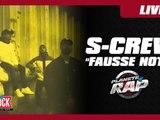 """Grosse ambiance du S-Crew sur le titre """"Fausse note"""" en live dans Planète Rap"""