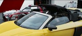 VÍDEO: Mira el tributo del Audi R8 Spyder al Audi R18 para Le Mans
