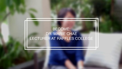 Interview: Dr. Marie Chae, lecturer at Raffles College