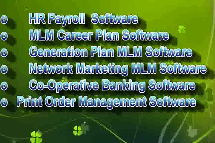 Retail POS, NBFC Software, MLM Generation Plan, Salary Software, Printer Software, MLM Software