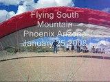 Flying South Mountain Phoenix AZ 1-25-08