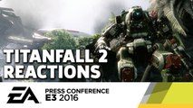 Titanfall 2 Trailer Reactions - E3 2016 GameSpot Post Show