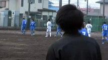 20120129 エスペランサ vs 久里浜中学校(神奈川県U-15リーグ)