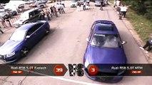 Moscow Unlim 500: Audi RS6 MTM vs Audi RS6 Evotech