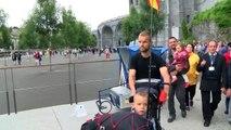 Pour le Sourire d'Hugo : un père et son fils, de Perpignan à Lourdes, à petites foulées