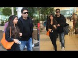 Karan Johar And Shahrukh Khan's Daughter Suhana Spotted At Mumbai Airport