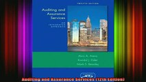 READ book  Auditing and Assurance Services 12th Edition Full Free