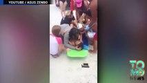 Remaja Laki-laki berusia 13 tahun terluka karena hiu - Tomonews
