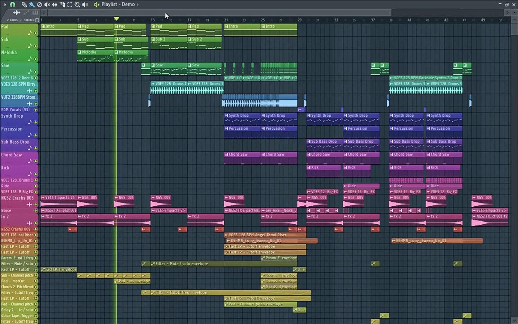 FL Studio Groove Template #2 +FLP Free