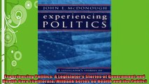 READ book  Experiencing Politics A Legislators Stories of Government and Health Care  FREE BOOOK ONLINE