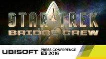 Star Trek: Bridge Crew - VR Game Reveal with Star Trek Alums