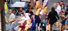 EURO 2016 : English Hooligans VS Russian Hooligans [Marseille, France]