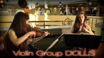 Скрипка и виолончель - рок и поп музыка на корпоративе