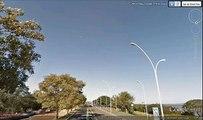 (UFO) Óvnis  imagens Google Earth Street view 17/10/2012