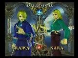 Soul Calibur III- Battle 25: Raika vs. Kara Part 3