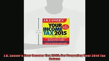 READ book  JK Lassers Your Income Tax 2015 For Preparing Your 2014 Tax Return  FREE BOOOK ONLINE