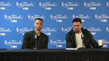 Steph Curry & Klay Thompson Postgame Interview  Cavaliers vs Warriors - Game 5  2016 NBA Finals