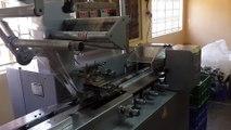 Steelwool Packing Machine, Flow Wrapper, Flow Wrap Machine, Flow Pack Machine, Horizontal Packaging Machine