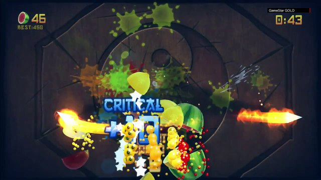 Fruit Ninja - Kinect Sports -The Greatest Fruit Slicing Game in the World!   #01