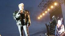 Adam's speech, Queen  Adam Lambert, Sweden Rock Festival.