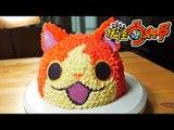 지바냥 케이크 만들기 ジバニャンケーキ[レシピ]How to make a Yokai Watch cake [스윗더미 . Sweet The MI]