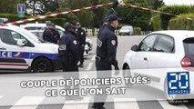 Policiers tués dans les Yvelines: Ce que l'on sait