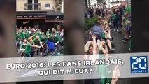 Euro 2016: Les fans irlandais sont les plus fervents, la preuve