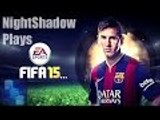 Fifa 15 Game 1 First Half - Beast mode on lol (PC/FaceCam)