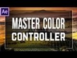 CREATE a Master Color Controller │ After Effects EXPRESSIONS Tutorial!