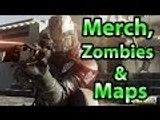 Infinite Warfare Merchandise, Maps On Other Planets & CO-OP Zombies (Infinite Warfare INFO)