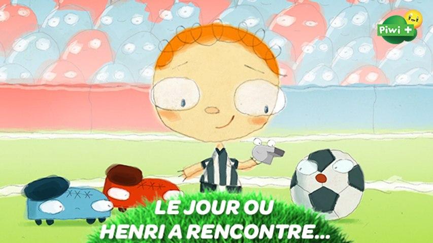 LE JOUR OU HENRI A RENCONTRE... Un ballon de foot (Episode complet) - Dessin animé Piwi+