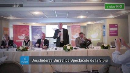 Deschiderea Bursei de Spetacole de la Sibiu