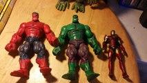 Marvel legends Red hulk baf & marvel legends Toys R us exclusive 2 pack Tru Hulk Ebay