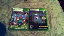 Minecraft  XBOX360 vs Terraria XBOX 360