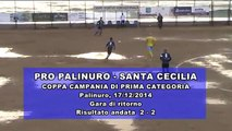 PRO PALINURO - SANTA CECILIA  17/12/2014