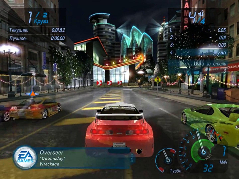 Need For Speed Underground - #1 [Выбор тачки]