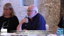SAINT-THIBERY - 2016 - AGGLO CAHM - Retour en VIDEO sur le CONSEIL D'AGGLOMERATION du LUNDI 13 JUIN 2016