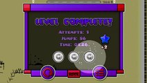 """Geometry Dash [2.01] - """"Paint On Track"""" by rockjak460 (Easy/3 Coins)"""