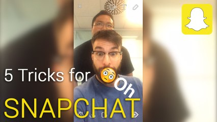 5 tricks to become a Snapchat expert