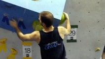 Compétition d'escalade Tour de bloc - Problème 29