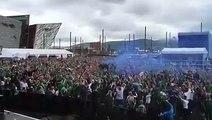 Les supporters nord-irlandais sont magiques ! Le tube de l'Euro