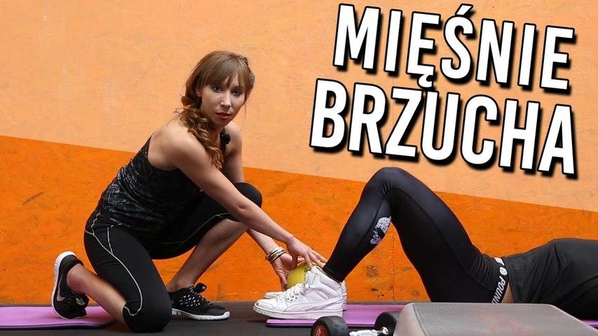 4 ćwiczenia na MIĘSNIE BRZUCHA na siłowni - ODWAGA