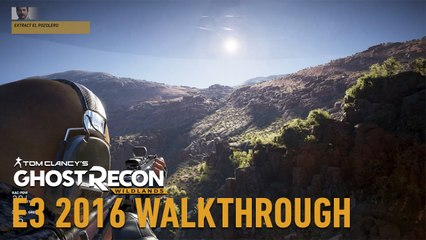 Tom Clancy's Ghost Recon Wildlands - Video Di Gioco  Missione  Cattura El Pozolero  - E3 2016