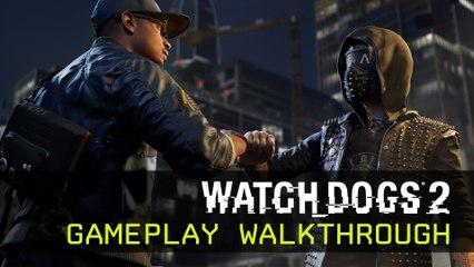 Watch Dogs 2 - Gameplay Walkthrough - E3 2016 [IT]