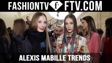 Paris Fashion Week F/W 16-17 - Alexis Mabille Trends   FTV.com