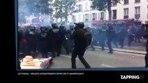 Loi Travail : Violents affrontements entre les CRS et des manifestants à Paris (Vidéo)